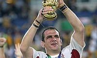 Martin Johnson captained England to World Cup glory in 2003