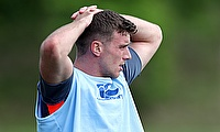 George Ford, pictured, is intent on proving he can boss England's backline without Owen Farrell's help