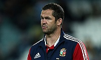 Andy Farrell is British and Irish Lions defence specialist
