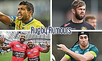 Wesley Fofana, Geoff Parling, Ultan Dillane and the Armitage Brothers