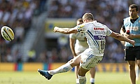 Gareth Steenson kicked Exeter to victory