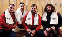 Whyte & Mackay's Lions stars Stuart Hogg, Conor Murray, Elliot Daly and Adam Jones