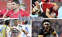 Rob Simmons, Ross Moriarty, Kyle Eastmond and Waisea Nayacalevu