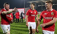 Owen Farrell kicked the Lions to victory