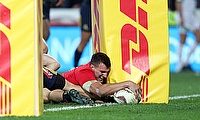 Sam Warburton touched down but the Lions lost in Dunedin