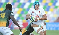 England captain Zach Mercer scored two of their tries in a 24-22 win over South Africa in their semi-final