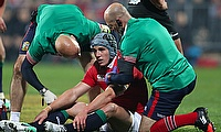 Jonathan Davies suffered a head injury against the Crusaders