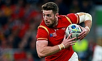Alex Cuthbert crossed for Wales at Eden Park