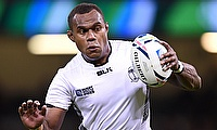 Leone Nakarawa was a key figure in Fiji's victory over Scotland