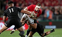 Liam Williams began the move which led to a dazzling Lions try, but it was not enough