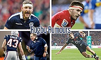 Finn Russell, Jaco Kriel, Jonny May and Nate Ebner