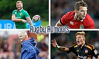 Ross Moriarty, Dan Biggar, Damian McKenzie and Todd Blackadder