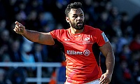 Billy Vunipola injured his shoulder in the Aviva Premiership semi-final