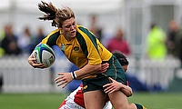 Captain Sharni Williams was among Australia's try scorers in the 36-24 victory over hosts Ireland at the Women's World Cup.