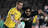 Quade Cooper (left) wants to reclaim his place in the Australian squad