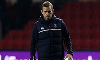 Cardiff Blues head coach Danny Wilson, pictured, has lost the services of flanker Ellis Jenkins due to injury