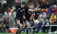 Beauden Barrett kicked 17 points for New Zealand