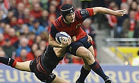 Munster's Tyler Bleyendaal was on the winning side