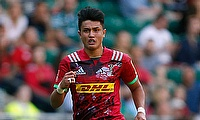Marcus Smith, pictured, impressed Harlequins director of rugby John Kingston