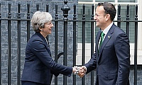 Prime Minister Theresa May and Irish Taoiseach Leo Varadkar met at Downing Street on Monday