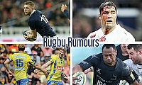 Finn Russell, Brad Barritt, Vereniki Goneva, David Strettle and Nick Abendanon
