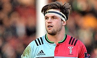 Harlequins flanker Jack Clifford suffered a shoulder injury against Sale