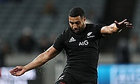 Lima Sopoaga scored the decisive penalty in New Zealand's narrow win over South Africa