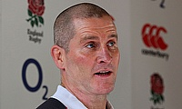 Stuart Lancaster, pictured, has come under heavy fire in Rob Andrew's autobiography