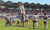 Christian Day in action for Stade Français