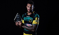 Northampton Saints' Courtney Lawes