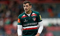Jonny May ended on the losing side despite scoring a try