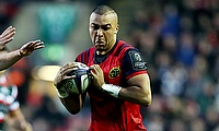 Simon Zebo touched down for Munster in France