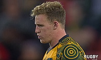 Reece Hodge kicks the Wallabies to victory against the All Blacks