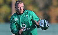 Keith Earls has braced himself for a physical challenge