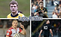 Joe Launchbury, Danny Cipriani, Aaron Cruden and Jaco Van Der Walt