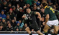 Andrew Conway, left, helped Ireland to a big victory over South Africa