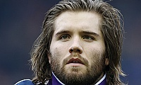 Ben Toolis made his first start at BT Murrayfield against Samoa