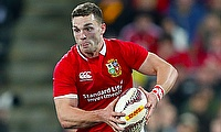 Northampton wing George North will return to Wales next season on a national dual contract