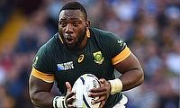 Tendai Mtawarira will be forced to sit out the Test against Wales this weekend