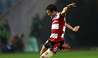 Gloucester's Billy Burns scored two tries against London Irish