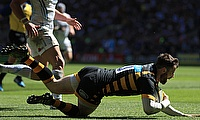 Elliot Daly was one of Wasps' tryscorers in their defeat to La Rochelle