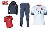 Canterbury unveils the new England Rugby 2017/18 range