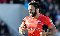 Billy Vunipola made a successful comeback from shoulder surgery