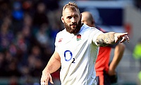 England prop Joe Marler was sent off when playing for Harlequins and so must serve a six-week ban