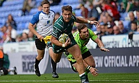 Alex Lewington in action for London Irish