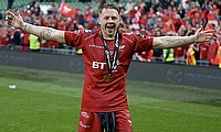 James Davies was part of the Pro 12 winning Scarlets side