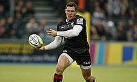 Alex Goode scored a try for Saracens