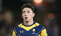 Josh Adams scored a try in either half