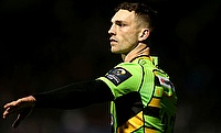 George North was missing from Northampton's starting line-up