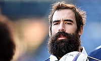 Josh Strauss scored a try for Sale Sharks